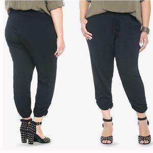 Torrid NWT Harem Jogger Black Rayon Casual Pants
